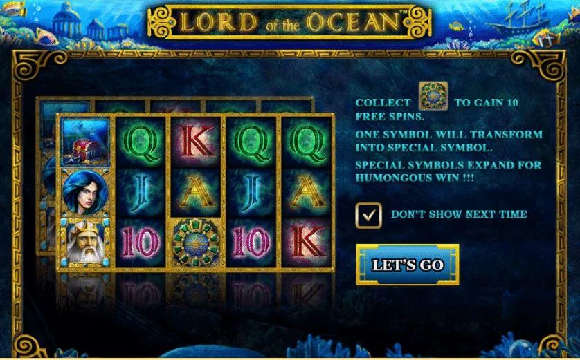 เกมLord Of The Ocean