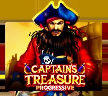 เกมCaptains Treasure Progressive