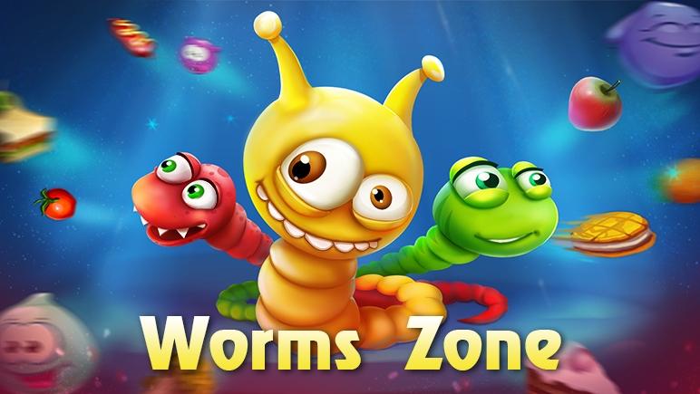 เกมงูWorms Zone